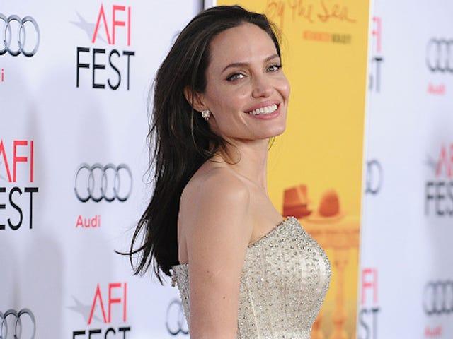 Анджелина Джоли - лицо нового парфюма Guerlain, пожертвует всю зарплату