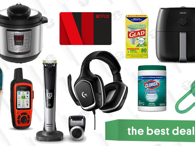 Friday's Best Deals: A Huge REI Sale, OneBlade Pro, Instant Pot, and More