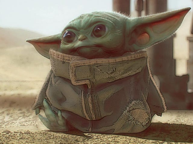 Υπάρχουν περισσότερα για την ιδέα του Mandalorian Art Than 'Baby Yoda'