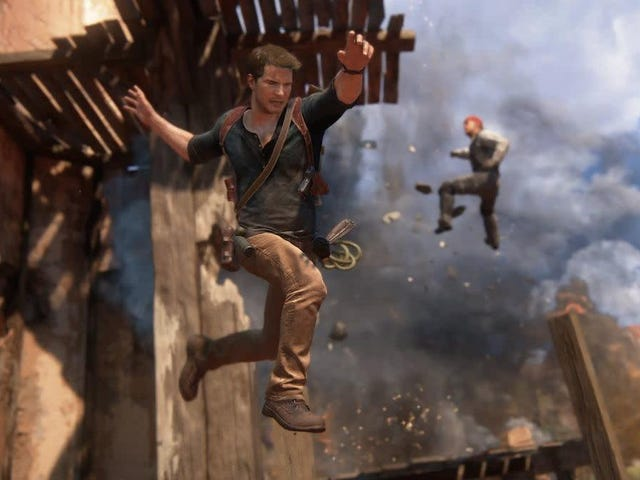 LOL The Uncharted Movie
