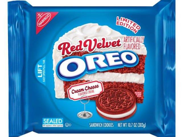 Một phiên bản giới hạn của Red Velvet Cake Oreo sẽ đến vào ngày 2 tháng 2