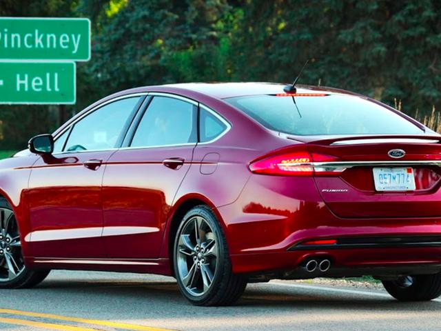 El Ford Fusion Sport será la primera fusión en morir