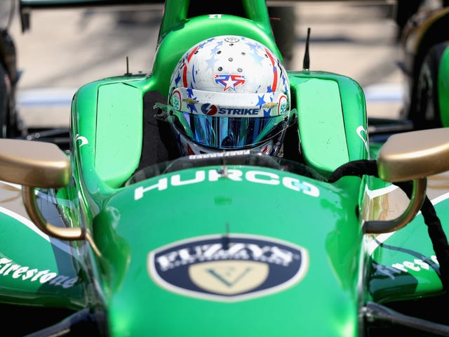 IndyCar Driver Returns Just Two Weeks After Fracturing His Hand And Collarbone
