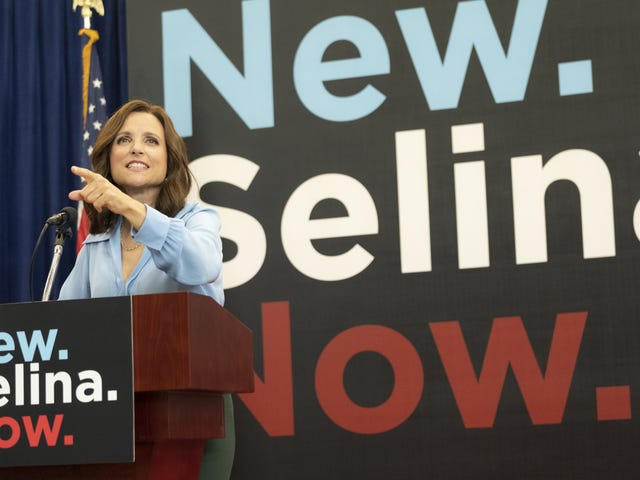 Veep doubles down as Selina finds her new brand: Misogyny