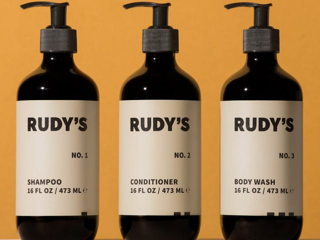 Rudy's 1-2-3 Line Is The New Best Value In Premium Ablution