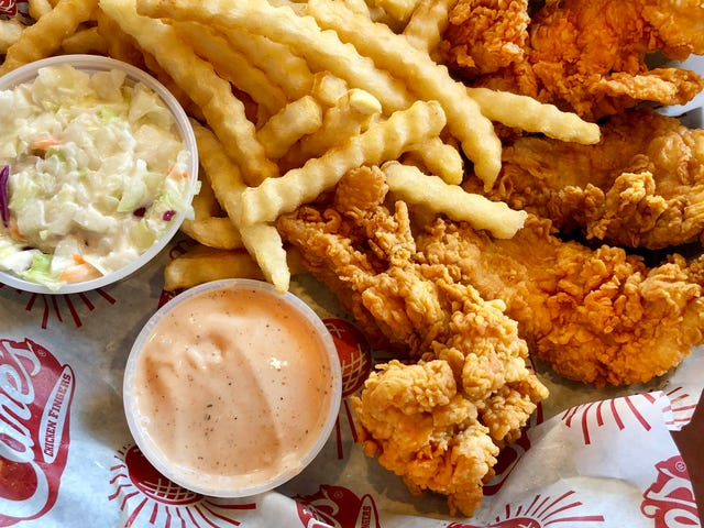 "<a href=""https://thetakeout.com/raising-canes-serves-a-more-than-able-chicken-finger-1823315776"" data-id="""" onClick=""window.ga('send', 'event', 'Permalink page click', 'Permalink page click - post header', 'standard');"">Raising Cane&#39;s serves a more-than-able chicken finger</a>"