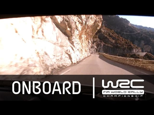 Onboard A 2015 WRC Rally Car On The Legendary Col De Turini