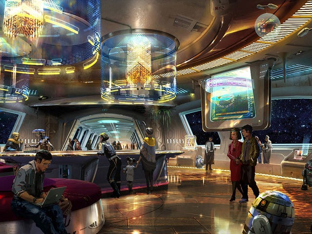 Walt Disney World Resort in Florida Is Opening a Completely Immersive Star Wars Hotel