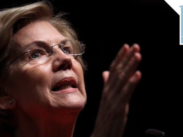 Elizabeth Warren ama un buon portico