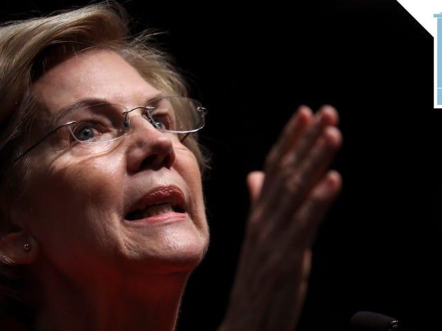 Elizabeth Warren Loves a Good Porch
