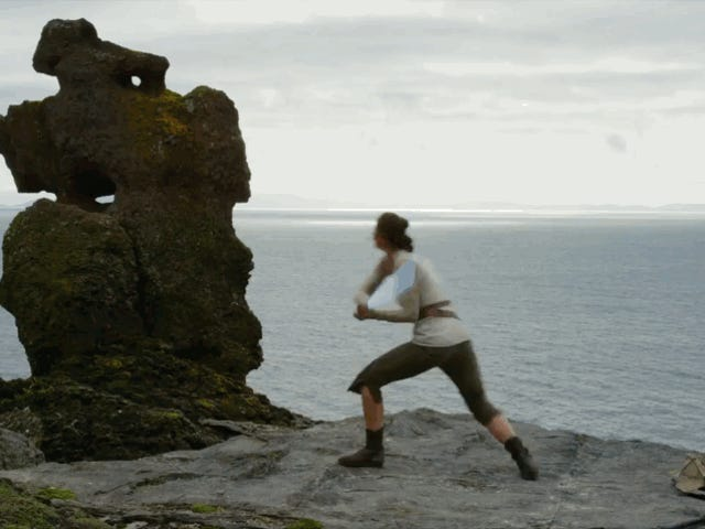 Let's Have Fun Watching The Last Jedi's Actors Learn to Kick Ass