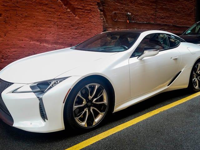 Τι θέλετε να ξέρετε για το Lexus LC 500;