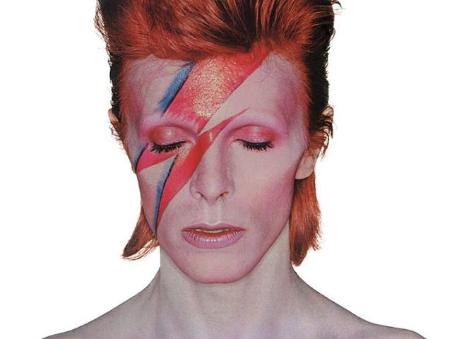 David Bowie's getting a series of stamps in the UK