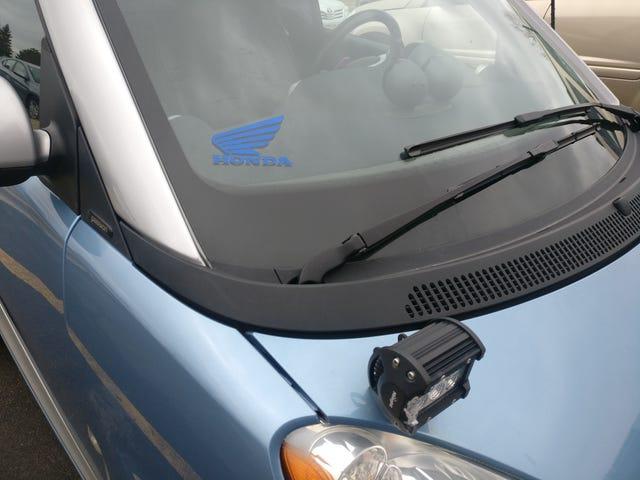 Friendly Oppo PSA - I Deliver Vehicles!