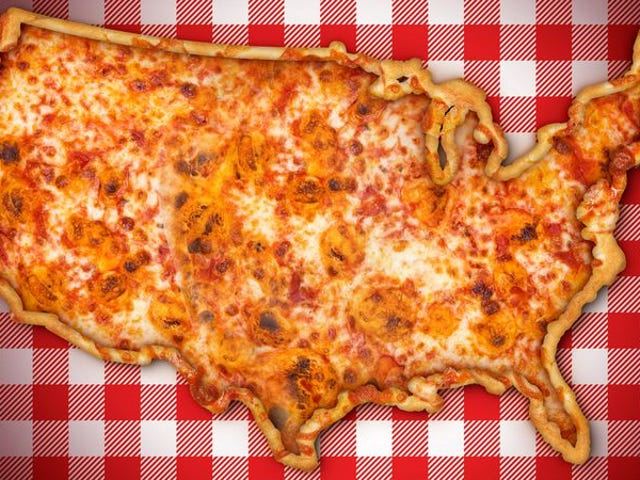What region has the nation's best pizza?