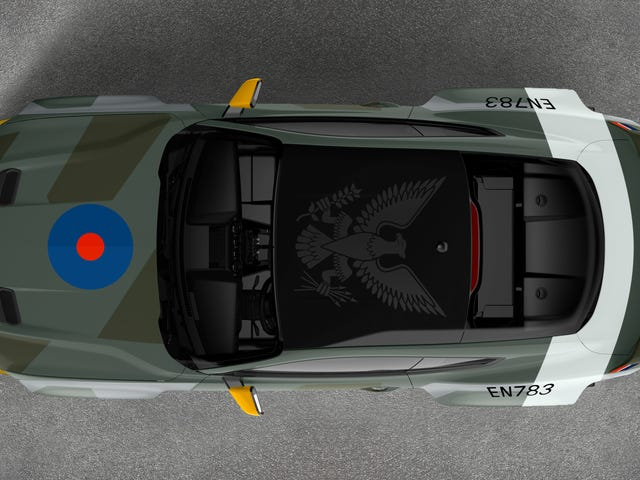 This Ford Mustang Is A 700-HP Tribute To U.S. Pilots In The RAF