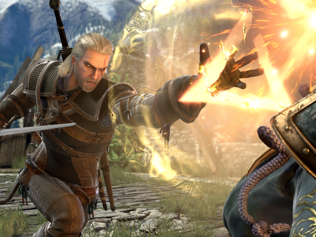 Geralt Is Coming To Soulcalibur VI