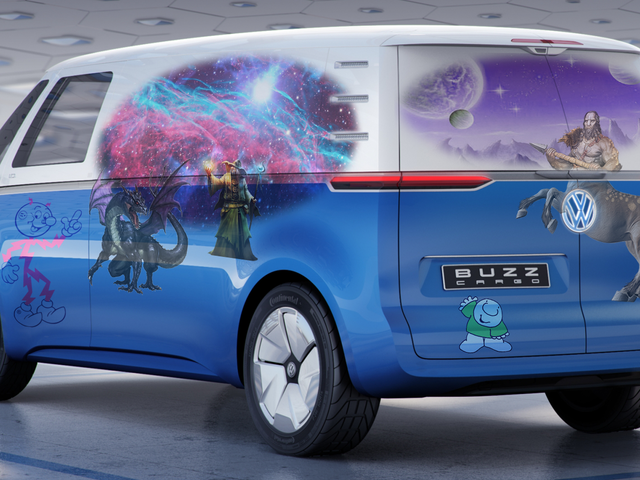 It's Time to Design Your Very Own Van Mural For VW's New Cargo Van