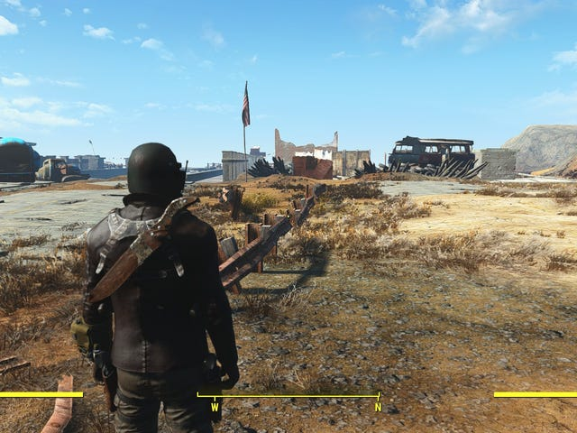 Modder Is Building New Vegas Inside of Fallout 4