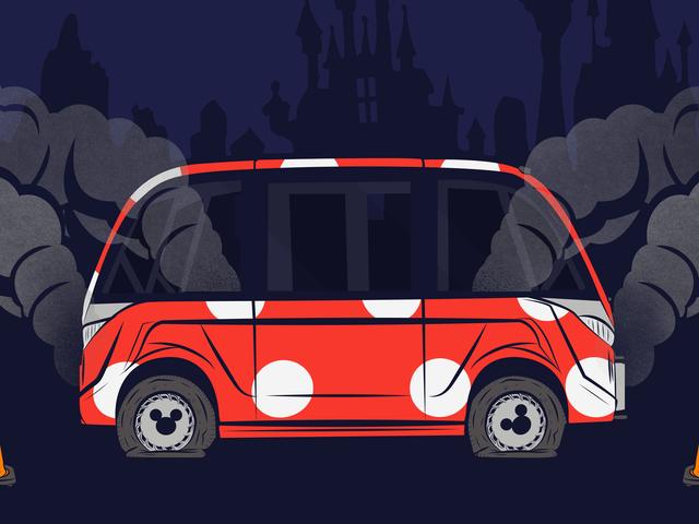 Hoe een deal om autonome voertuigen naar Walt Disney World te brengen, is verbleken