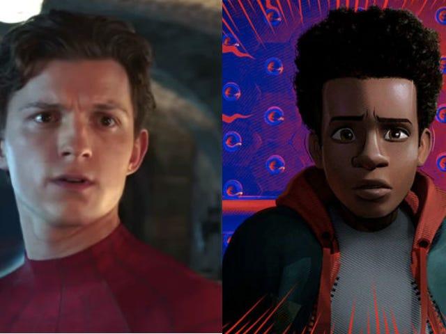 Tom Holland avslöjar in i Spider-Verse Cameo som kunde ha hänt