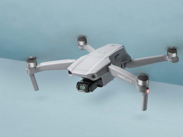 DJI afirma que el Mavic Air 2 es su dron más inteligente hasta el momento, pero definitivamente no es el más ligero