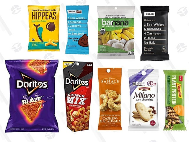 Spend $10 On Amazon Snack Samples, Get a $10 Credit to Buy More Snacks