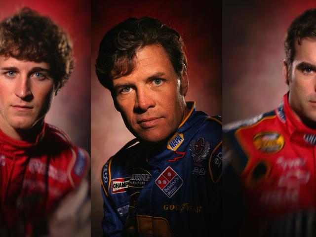 Disfrute estos disparos artísticos en la cabeza de NASCAR de 2005