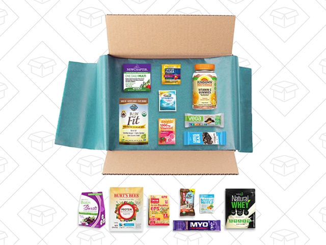 New Year, New You Starts With Gummy Vitamins and More From Amazon's Sample Box
