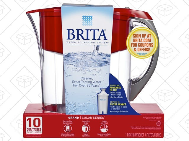 Save A Couple Bucks On This 10-Cup Brita Pitcher