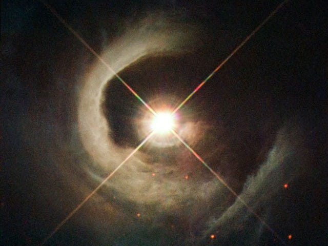 Spectacular new photo of a very special star