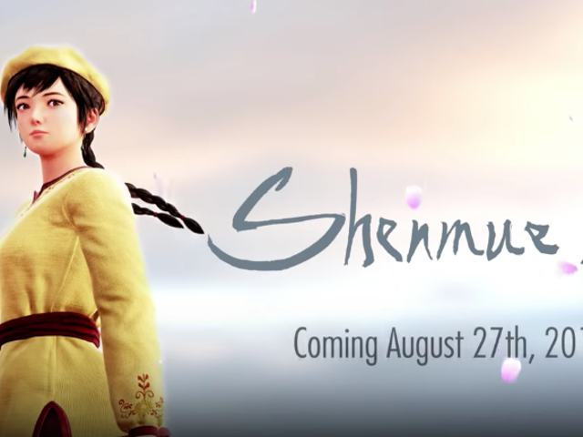 <i>Shenmue III</i> será lanzado el 27 de agosto de 2019