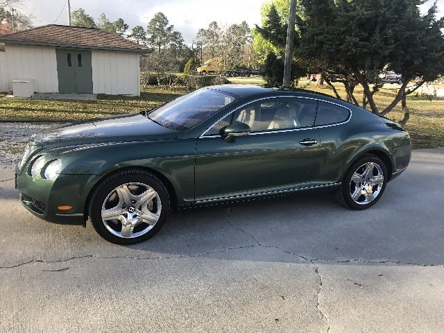 Who Is Foolhardy Enough To Spend $48,000 On A Bentley From A Used Auto Lot?