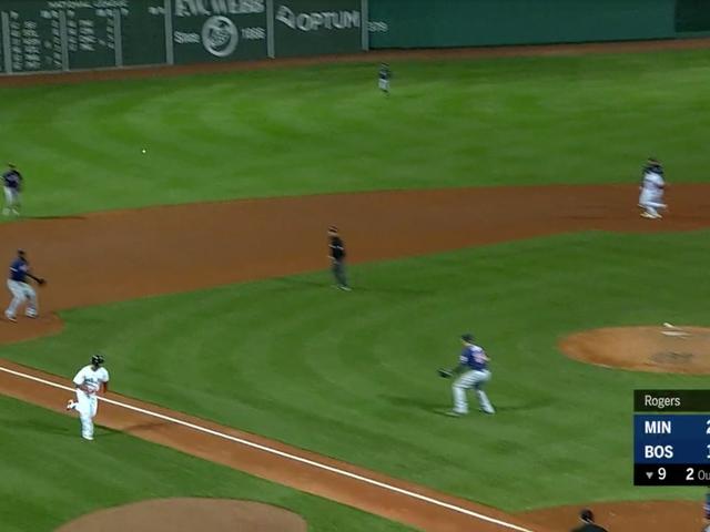 Qui ci sono 13 secondi di baseball che sono stati più eccitanti rispetto al calcio del giovedì sera
