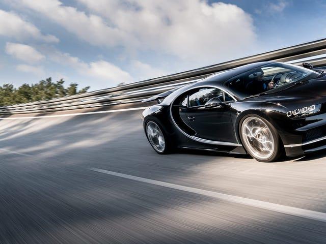 Varför Bugatti Chiron kan inte matcha Still-Great Veyron