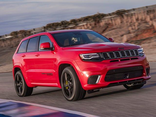 2018 Jeep Grand Cherokee Trackhawk 85.900 Dolara Size Hellcat Gücü Verecek