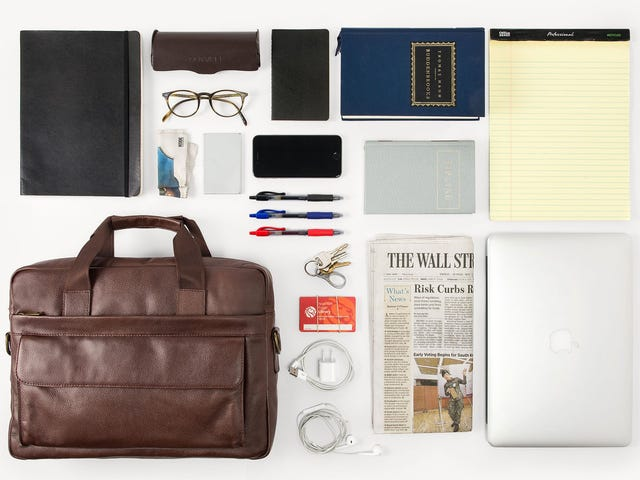 Save $20 On a Leather Briefcase That Looks Great Without Trying Too Hard [Exclusive]
