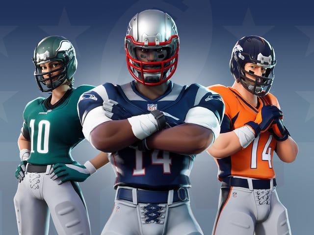 Ah Yes, <i>Fortnite </i>& The NFL, Together At Last