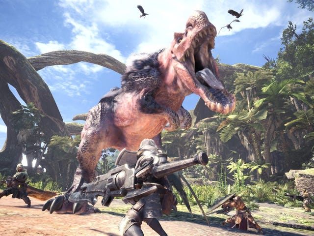 """Capcom Says Bringing Monster Hunter: World To Nintendo Switch Would Be """"Difficult"""""""