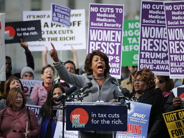 Trump and Friends Come for Maxine Waters, a Black Woman Who Doesn't Give a Damn About Your Calls for Civility