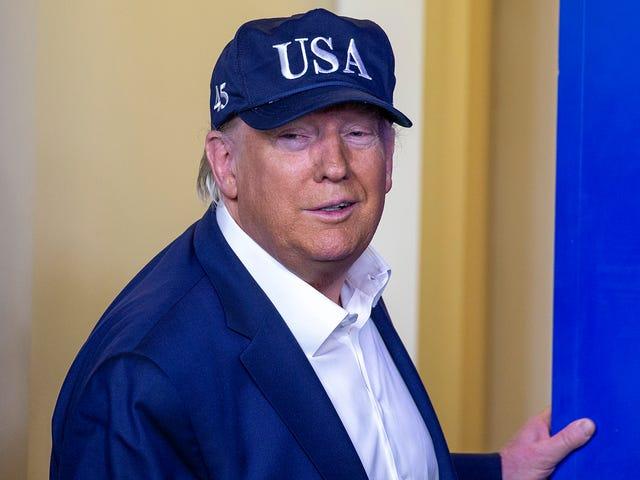 Buenas noticias para las personas a las que les gustan las personas terribles: el presidente Trump resultó negativo para COVID-19