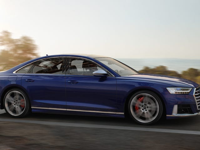 The 2020 Audi A8 Gets Two Engine Options You'll Actually Want To Spend Oodles Of Money On