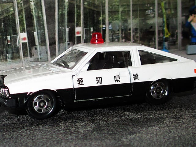 Land of the Rising Sun-Day: Tomica Toyota Corolla Levin Police