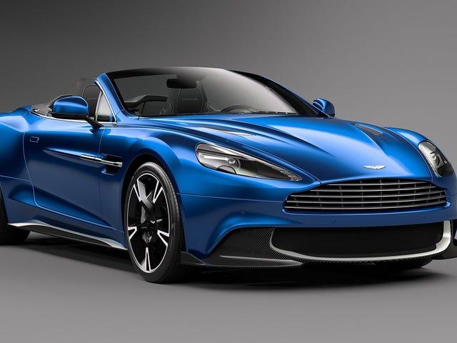 Hindi Ko Malaman Kung Paanong Nahihilo Ang Aston Martin Vanquish S Volante, Ngunit Ito Ay