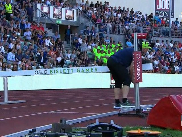 Officials Ruin Steeplechase Competition By Setting A Barrier Six Inches Too High