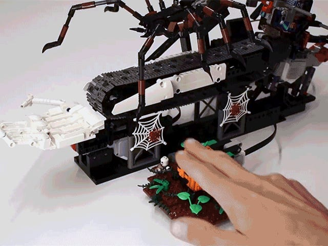 This Delightful Lego Contraption Deals With Trick-or-Treaters For You