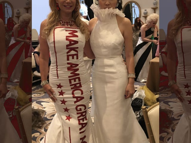 Behold the Hellscape of This Trump-Inspired Fashion Show