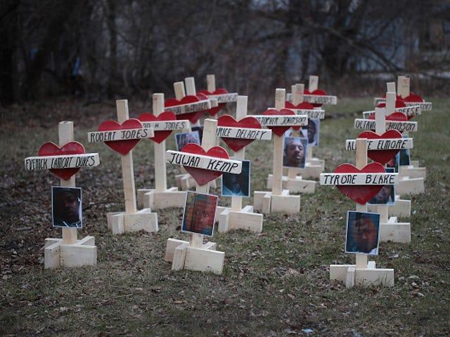Chicago Shootings, Homicides Cao hơn khi bắt đầu bạo lực 2016