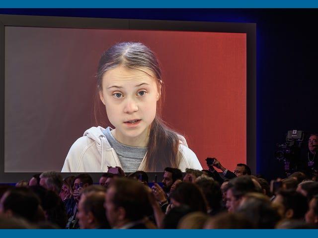 """Mensaje de Greta Thunberg a los capitalistas: """"Actúa como si amaras a tus hijos"""""""