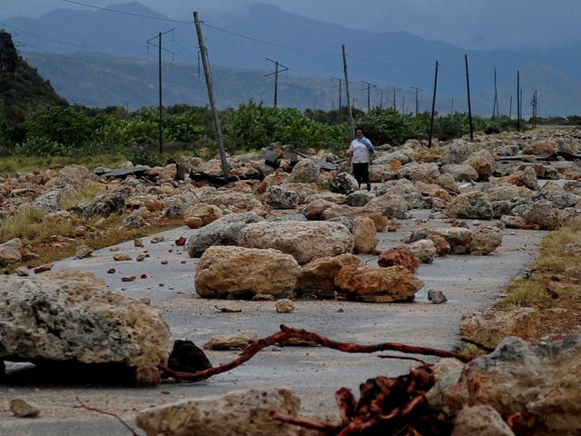 Photos of Hurricane Matthew's Devastation in the Caribbean Are Heartbreaking [Updated]